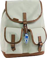 Женский рюкзак городской Bagland Amy 16л. бежевый (рюкзаки женские, жіночий рюкзак, наплічник, рюкзачок)