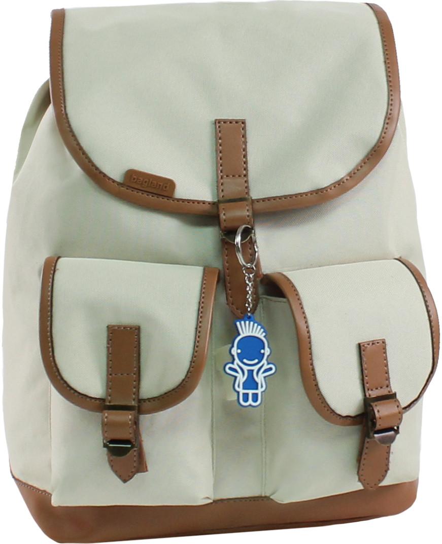 1707ab5def1a Женский рюкзак городской Bagland Amy 16л. бежевый (рюкзаки женские, жі