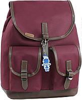 Женский рюкзак городской Bagland Amy 16л. бордовый (рюкзаки женские, жіночий рюкзак, наплічник, рюкзачок)