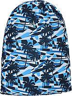 Рюкзак мешок для обуви Bagland Пальмы 8 л. (котомка, сумка для обуви, рюкзак для сменки, сумка мешок, спорт)