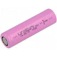 Аккумулятор литий-ионный GP 18650 3.7V 3000mAh (без защиты)