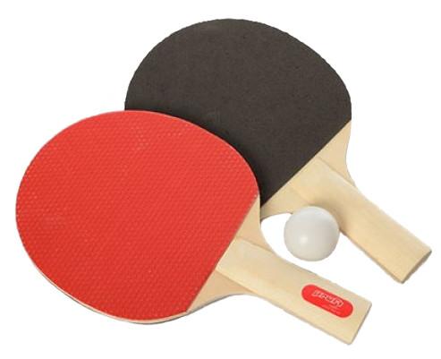 Ракетка для настільного тенісу MS 0216 2 шт., EVA+гума, 1 кулька, в блістері, 18,5-29-4 см
