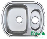 Мойка кухонная Kraft M6049_0,8 mm (декор), фото 1
