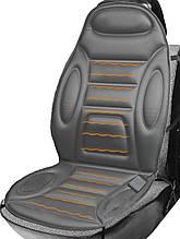 Накидка на сиденье с подогревом серая высокая, Дорожная Карта DK-515GR