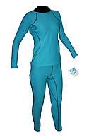 Термобелье Columbia женское OMNI-HEAT THERMAL REFLECTIVE № 5454 xl, голубой