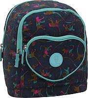 Детский рюкзак школьный Bagland Heart 9л. monkey (школа, рюкзаки детский, дитячий рюкзак, наплічник, рюкзачок)