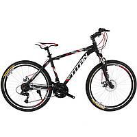 """Горный Велосипед Titan Focus 26""""×15"""" (Black/Gray/Red)"""
