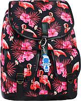 Женский рюкзак городской Bagland Amy 16л. Фламинго (рюкзаки женские, жіночий рюкзак, наплічник, рюкзачок)