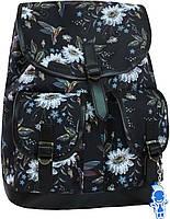 Женский рюкзак городской Bagland Amy 16л. Ромашки (рюкзаки женские, жіночий рюкзак, наплічник, рюкзачок)