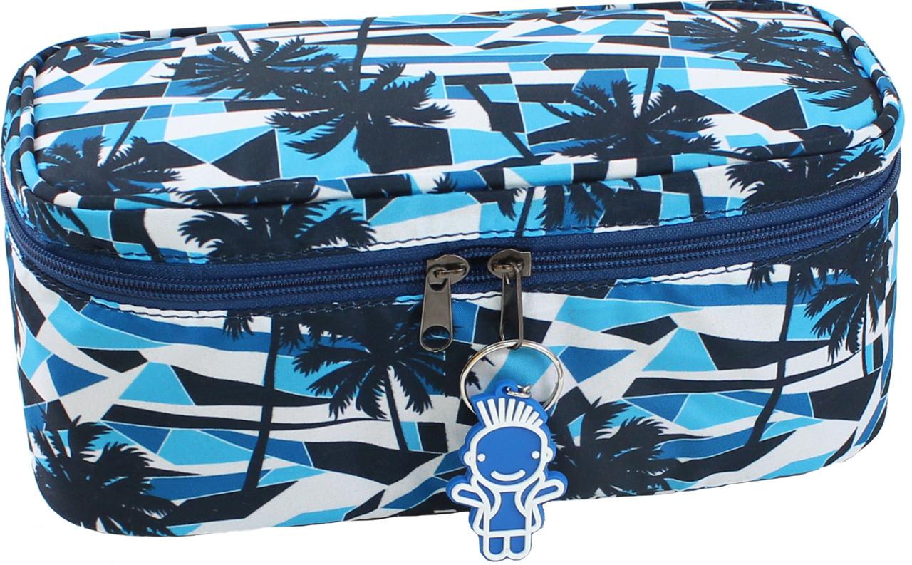 Косметичка сумка для косметики Bagland Пальмы 4 л. (сумочка, пенал для