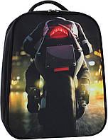Рюкзак школьный портфель Bagland Turtle 17л. Мото (унисекс, шкільний рюкзак, школьные рюкзаки, портфели)