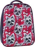 Рюкзак школьный портфель Bagland Turtle 17л. Собачка (унисекс, шкільний рюкзак, школьные рюкзаки, портфели)