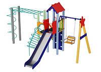 Детская площадка на улицу Луч высота горки 1,5 м, фото 1