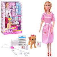 """Кукла BN814 """"Доктор"""" 3 вида"""