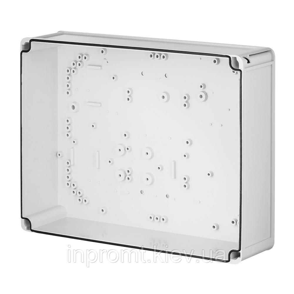 INDUSTRIAL Box коробка накладна 440x330x145 сіра RAL 7035 IP 65