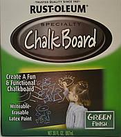 Краска для создания эффекта школьной доски зелёная, банка 0,946 л