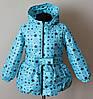 Детская куртка для девочек 1-4 года демисезонная