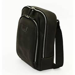 Кожаный рюкзак Vatto черный crazy