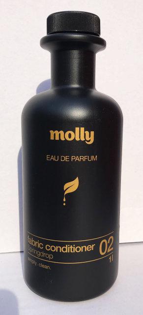 Ополіскувач для білизни екологічно - чистий Molly Spingdrop Весняна крапля 1 л.