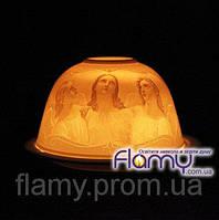 Фарфоровая лампадка под чайную свечку Флами