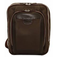 Кожаный рюкзак Vatto коричневый flotar