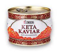 Икра красная кеты ТМ Lemberg - Лемберг Premium, ж/б 400 грамм
