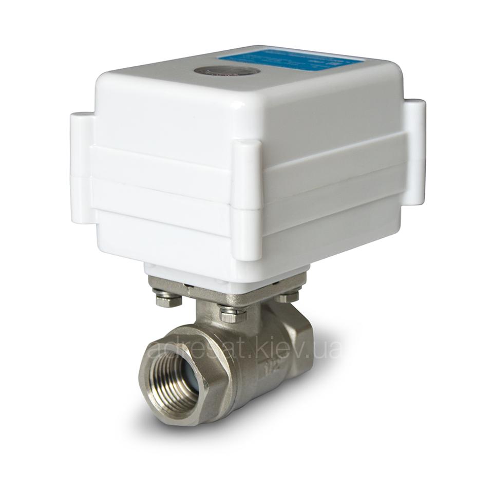Neptun Aquacontrol 1/2 '', кран кульовий з електроприводом, 220 В, 15 мм