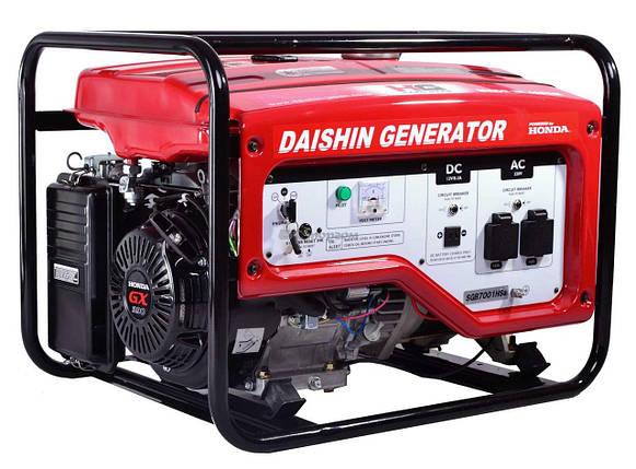 Бензиновый генератор Daishin SGB7001HSA, фото 2