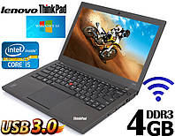 Ноутбук Lenovo ThinkPad X240 12.5'' i5 4GB RAM 320GB, фото 1