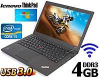 Ноутбук Lenovo ThinkPad X240 12.5'' i5 4GB RAM 320GB
