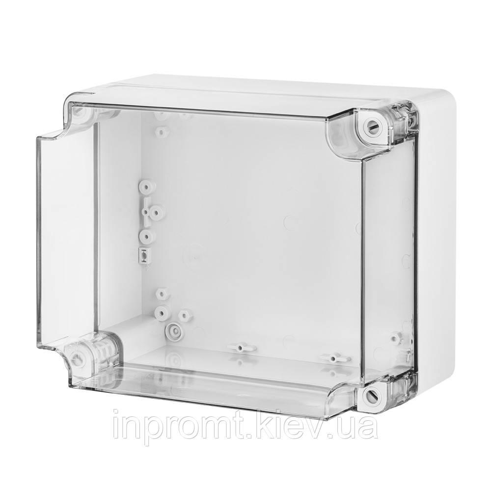 INDUSTRIAL Box коробка накладна прозора 440x330x145 IP 65