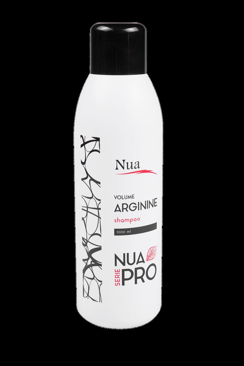 """Шампунь Volume with Arginine (Объем с аргинином)  TM """" Nua Pro"""" , 1000 ml"""