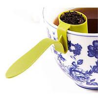 Заварник друшлаг для чая (Салатовый)