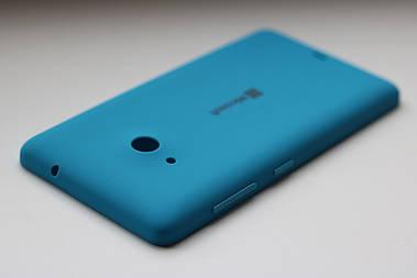 Задняя крышка Microsoft Lumia 535 панель голубая