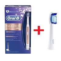 Ультразвуковая электрическая зубная щетка Oral-B S15.513.2 Pulsonic Slim + 1 насадка
