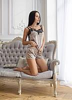 Велюровая женская пижама