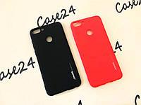 TPU чехол Smitt накладка бампер для Huawei P Smart (2 цвета)
