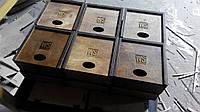 Деревянная подарочная коробка с гравировкой, фото 1