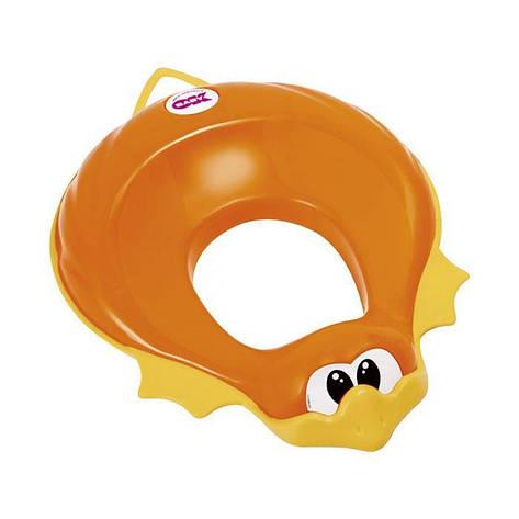 """Анатомическая накладка-сиденье """"Ducka Ok Baby"""", оранжевая, фото 2"""