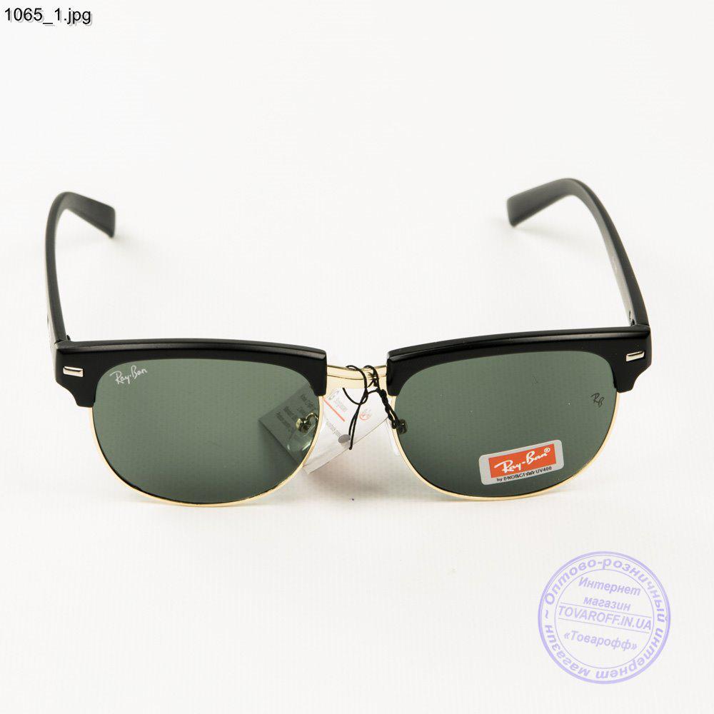 451220be6197 Солнцезащитные очки Ray-Ban Clubmaster со стеклянной линзой - 1065, ...