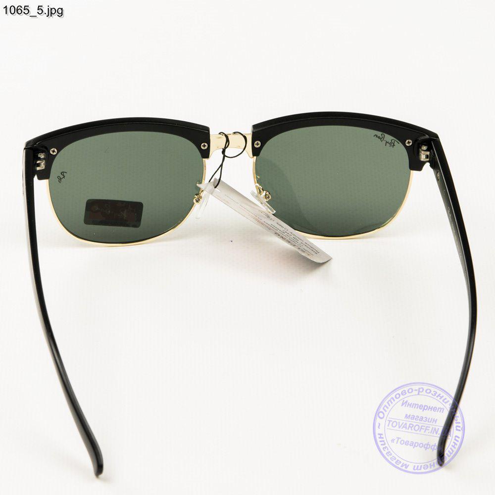 4336b6ea32d0 ... Солнцезащитные очки Ray-Ban Clubmaster со стеклянной линзой - 1065,  фото 5