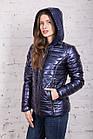 Весенняя серебренная куртка от производителя для женщин - весна 2018 - (кт-226), фото 8