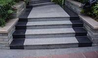Каменная лестница, гранитные ступени
