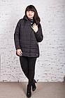 Женская куртка батальных размеров для женщин на весну модель 2018 - (кт-247), фото 7