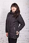 Женская куртка батальных размеров для женщин на весну модель 2018 - (кт-247), фото 8
