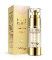 Крем-гель для глаз с жемчужной пудрой BioAqua Pure Pearls