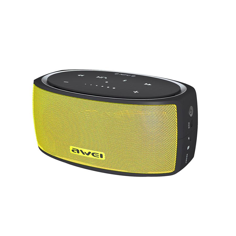 Колонка Bluetooth Awei Y210 Yellow