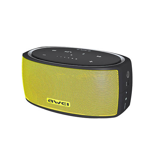 Колонки Bluetooth Awei Y210 Yellow