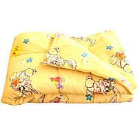 Одеяла детские стеганные 140х100  см. синтепон/поликоттон