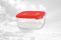 Контейнер квадратный, для пищевых продуктов 1500мл Консенсус